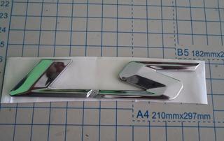 Emblema Cromado Puerta Chevrolet Luv Dmax Ls 97304844