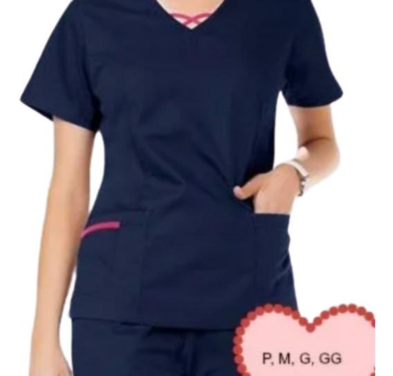 Pijama Cirúrgico Uniforme Enfermagem Médico E Veterinário
