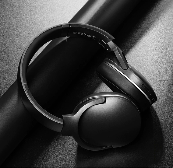 Fone De Ouvido S/ Fio Bluetooth Baseus Dobrável Frete Gratis