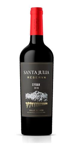 Imagen 1 de 5 de Santa Julia Reserva Syrah X 750ml