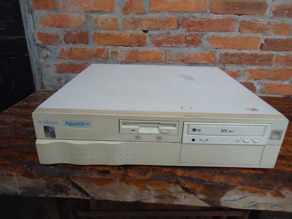 Antigo Pc Aquanta Dx Unisys Intel Pentium Leia O Anuncio