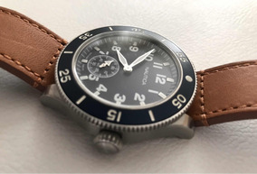 Relógio Nautica Couro (81) 99272-7722