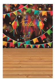 Fundo Fotográfico Festa Junina 4 Em Tecido 1,50x2,20m