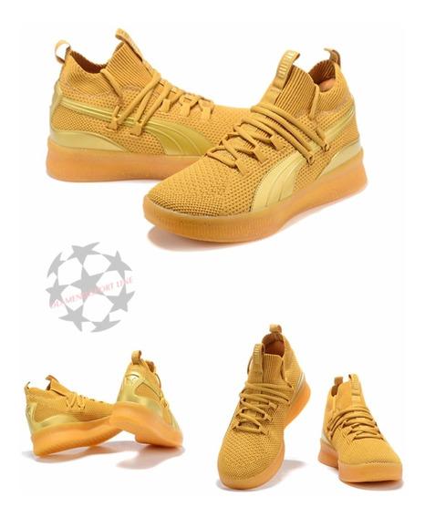 Puma Clyde Disrupt / Yellow