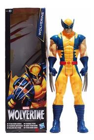 Boneco Wolverine Marvel X-men 30cm Pronta Entrega Na Caixa
