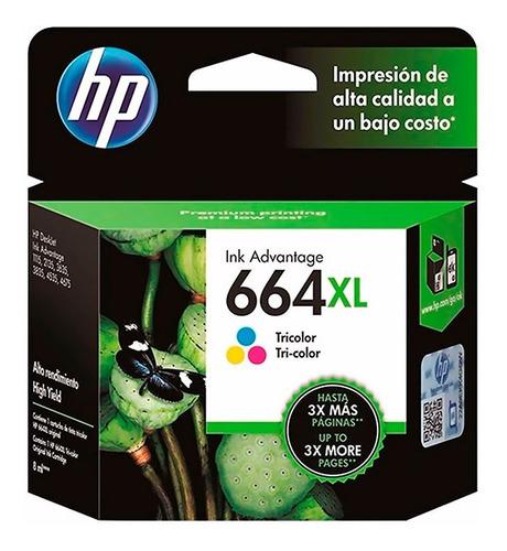Cartucho Hp 664xl Color Original 2135 4535 4675 Gtia 12 Mes.