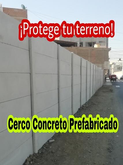 Cercos Concreto Prefabricado