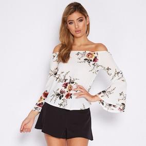 5d03096c87 Blusas Cuello Bandeja - Blusas para Mujer en Mercado Libre Colombia