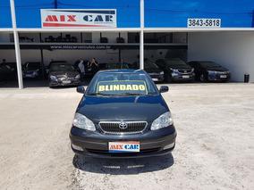 Toyota Corolla Seg Blindado 1.8 16v 2007 Novíssimo 2 Dono !!