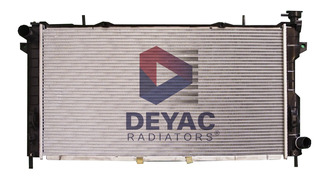 Radiador Chrysler Voyager 2003 2.4l Deyac T/m 32 Mm