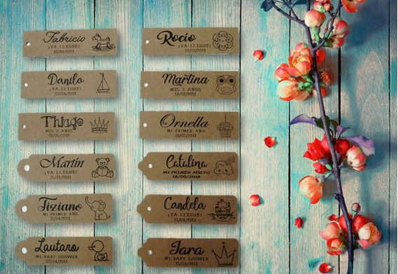 Etiquetas Tags En Papel Kraft (20 Unidades)