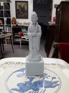Figura Oriental Maestro - Porcelana - Ac