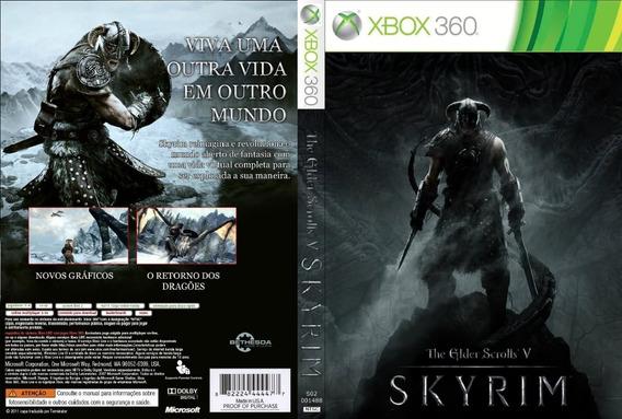 Skyrim Xbox 360 Destravado Lt 3.0