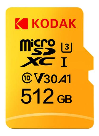 Cartão De Memoria 512gb Kodak Drone Gopro Cameras Tablet Pc