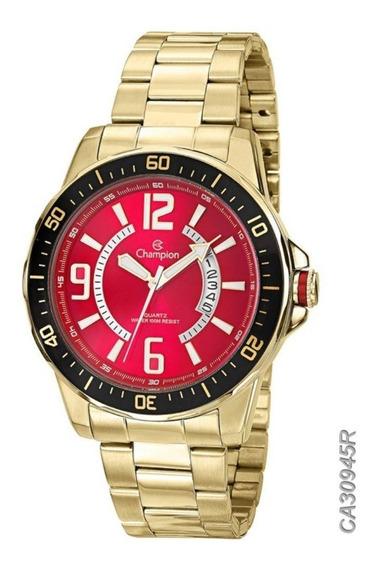 Relógio Champion Masculino Ca30945r Dourado