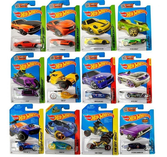 Hot Wheels Pack X20 Colección Autos Surtidos Original Mattel