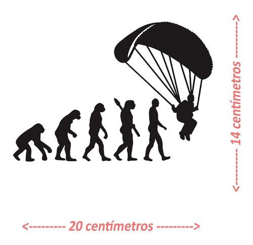 Adesivo Paraglider Paramotor Parapente Voo Duplo 3