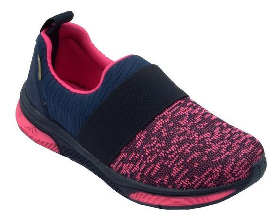 Tênis Pé Com Pé Runner 71010-/marinho/pink