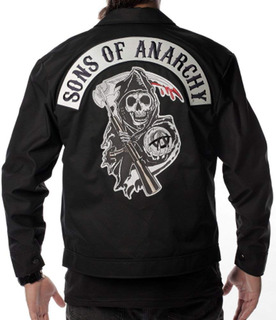 Chamarra Sons Of Anarchy Samcro Motociclista Mc Oficial