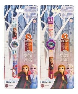 Reloj Digital Frozen Disney Original New Cod Frrj6m Bigshop