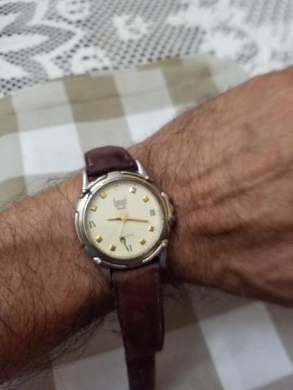 Relógio Antigo Dumont Quartz Para Peças