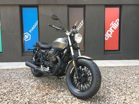 Moto Guzzi V9 Bobber Gris - No Harley No Bmw No Triumph
