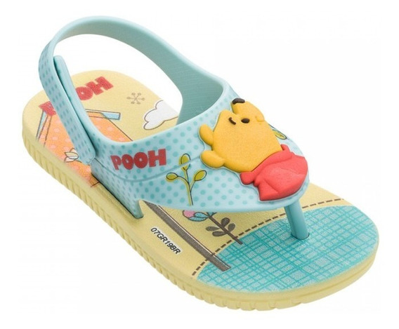 Sandália Cut Fun Pooh Amarelo 017914 25