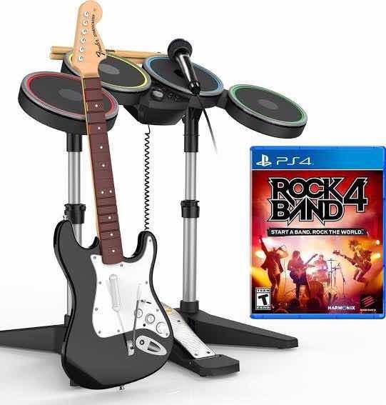 Rock Band 4 Para Ps4