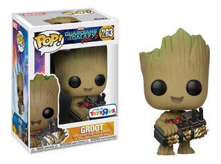 Funko Pop! Guardianes De La Galaxia Vol.2 Baby Groot W/bomb