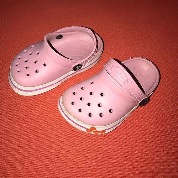 Crocs Suecos Harenna Color Rosa. Excelente Estado T23 T24