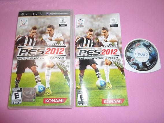 Pes 2012 Pro Evolution Soccer Para Psp