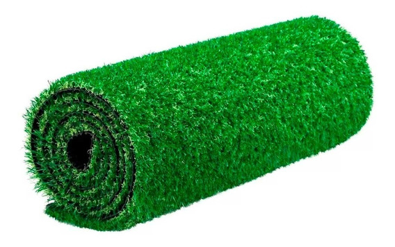 Grama Sintética Decorativa Softgrass 12mm 2x1m Verde