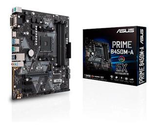 Motherboard Asus Prime B450m-a Am4 Ddr4 Hdmi B450 - Simmcye
