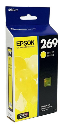 Cartucho 269 Amarelo T269420 Epson