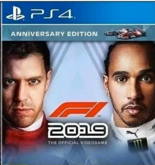 F1 2019 Ps4 Digital Psn Vitalício Português
