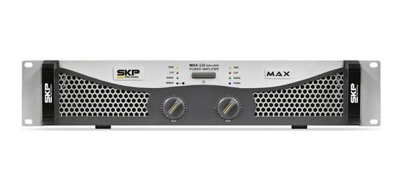 Amplificador Potência 400w Skp Max 420