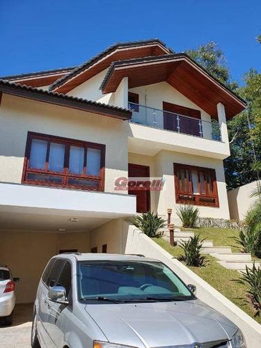 Casa Com 4 Dormitórios À Venda, 298 M² Por R$ 1.500.000,00 - Condomínio Arujá 5 - Arujá/sp - Ca0466