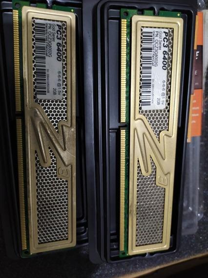 Memoria Ozc 4gb (2x2gb) Ddr3 800 Mhz Con Disipador Pc3 6400
