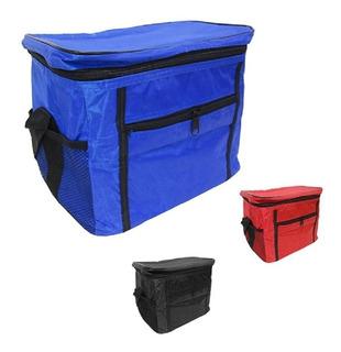Bolsa Térmica Vermelha Cooler 10 Litros Promo