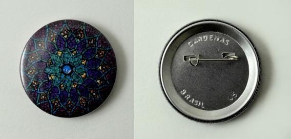 Button Alfinete (500 Unidades) 45mm