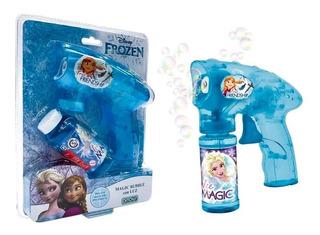 Frozen Magic Bubble Burbujero Con Luz Automático 2415 E. F.