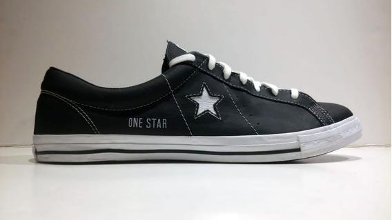 Converse Zapatilla One Star Hombre N48 Cuero Moda Urbana Dep