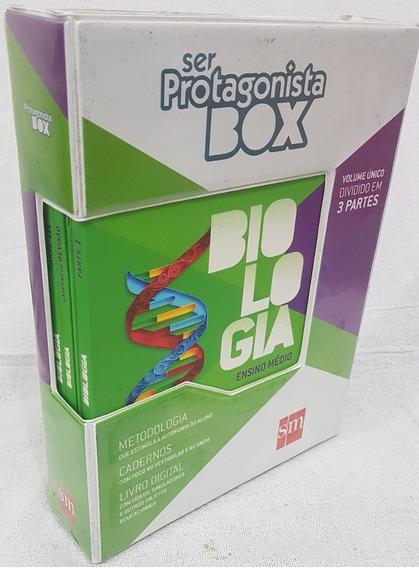 Livros Ser Protagonista - Box Biologia - Vol. Único Br