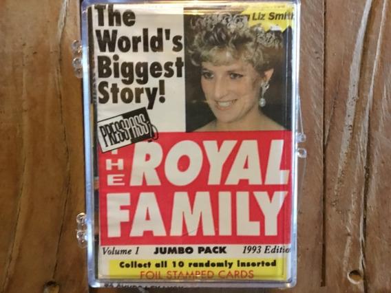 111 Trading Cards Familia Royal Ladi Di Rainha Principe Rei