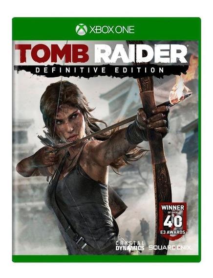 Tomb Raider Definitive Edition Xbox One Mídia Física
