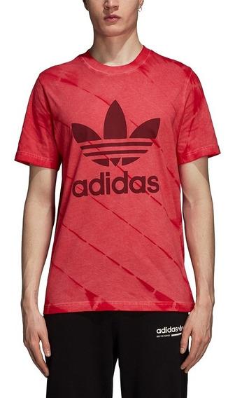 Remera adidas Originals Tie-dye Rojo Hombre