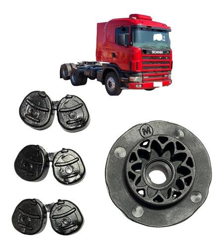 Imagem 1 de 2 de 8 Acoplamentos Motor Vidro Eletrico Da Scania 124 E Volvo Fh