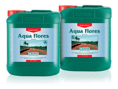 Imagen 1 de 1 de Canna Aqua Flores A+b 5l