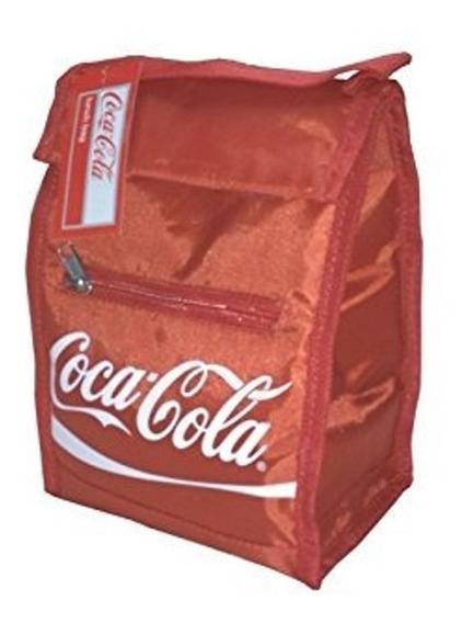 Mini Cava Térmica / Bolso Para La Comida Glad Y Coca-cola
