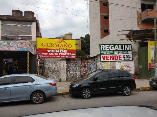 Imagen 1 de 4 de Lote A 100 Mts. Plaza San Justo, Excelente Ubicación.-